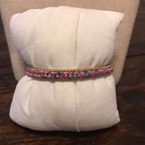 Stella & Dot Embroidered Cuff